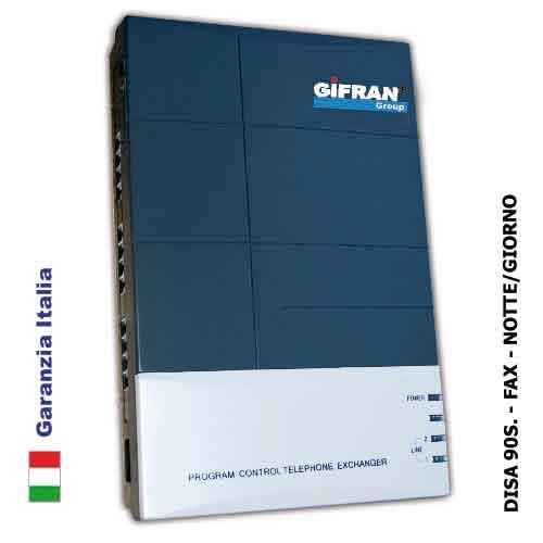 Centralino telefonico PABX 4 linee esterne 16 interni + funzione LCR