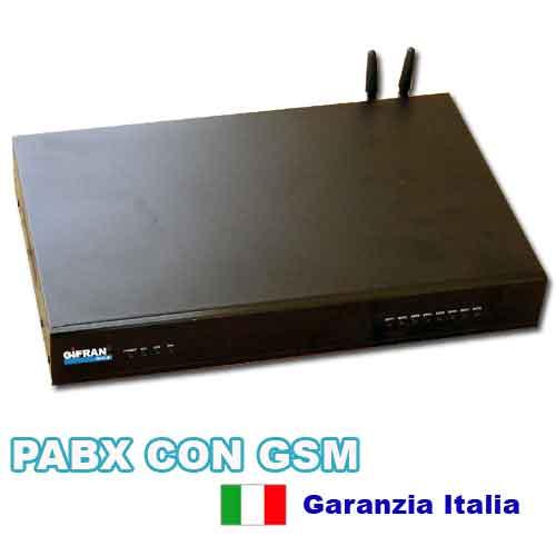 Centralino Telefonico aziendale 3x8 con modulo GSM